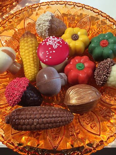 herfstbonbons - Chocovin Bonbons & Chocolade